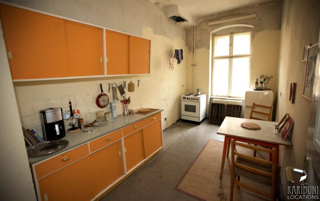 Film Location - Küche 60er Jahre mit Ost-Flair