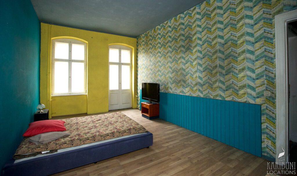 Film Location - African Pop Art Schlafzimmer