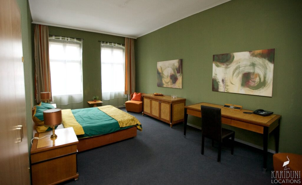 Film Location - Altmodisches Hotelzimmer