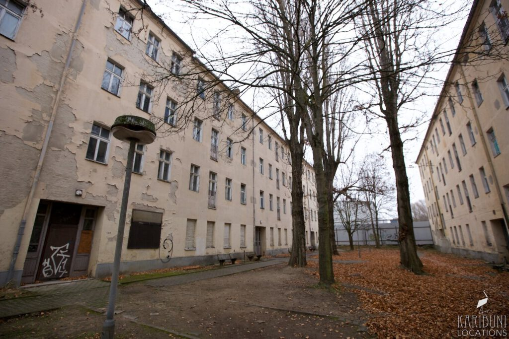 Altbau-Wohnblock in Berlin