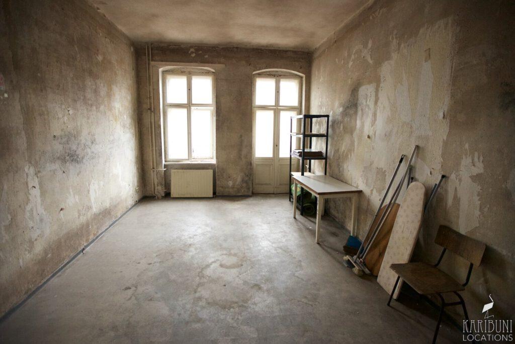 Film Location - Leerwohnung Altbau