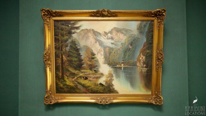 Barock Kaminzimmer - Gemälde