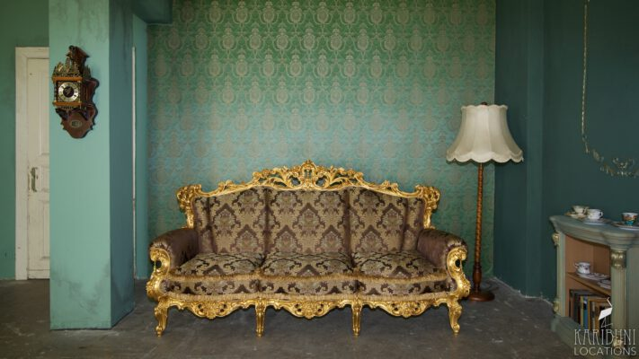 Barock Kaminzimmer - Sofa