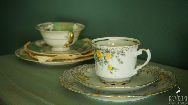 Barock Kaminzimmer - Teetassen
