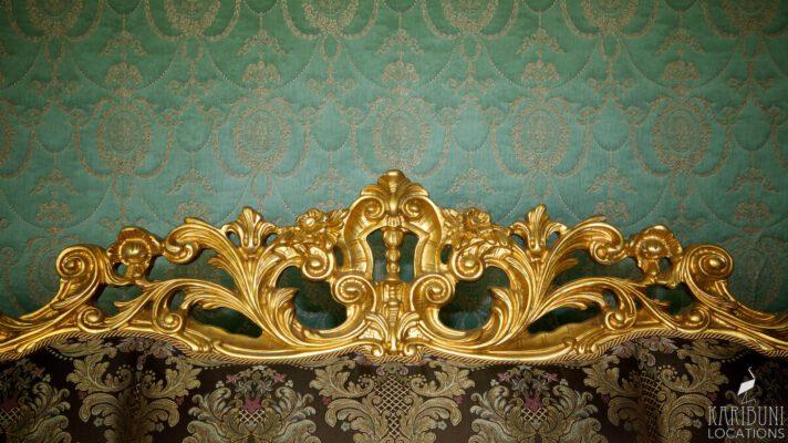 Barock Kaminzimmer - Sofa (Detail)