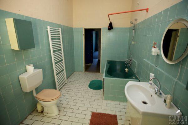 Omas Badezimmer - WC, Badewanne, Waschbecken