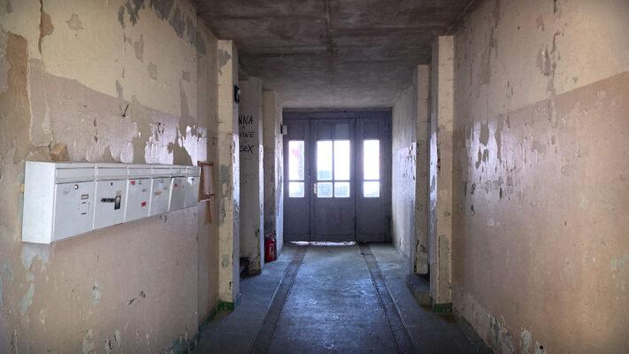 Altbau-Treppenhaus Eingangsbereich