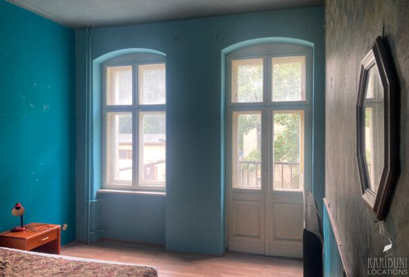 Neue Wandfarbe im Schlafzimmer
